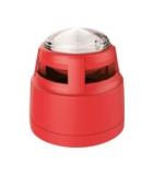 Baliza con sirena estroboscópica AW-D306 LPCB para alarmas