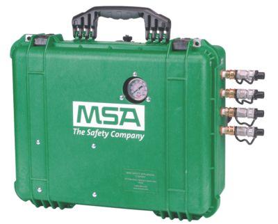 Acopeles para respiradores de línea de aire y capuchas de suministro de aire
