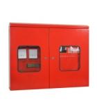 Caja para panel de alarmas de fuego direccionables.