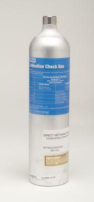 Gas patrón de prueba